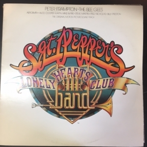 Sgt. Peppers Lonely Hearts Club Band - The Original Motion Picture Soundtrack LP (VG+/VG+) -soundtrack-