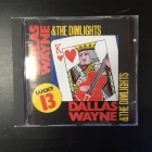 Dallas Wayne & The Dimlights - Lucky 13 CD (VG+/M-) -country-