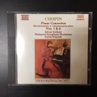 Istvan Szekely - Chopin: Piano Concertos Nos.1 & 2 CD (M-/M-) -klassinen-