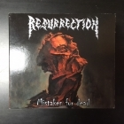 Resurrection - Mistaken For Dead (limited edition) CD+DVD (VG+/VG+) -death metal-