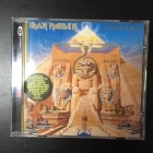 Iron Maiden - Powerslave (remastered) CD (VG+/M-) -heavy metal-