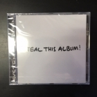 System Of A Down - Steal This Album! CD (avaamaton) -alt metal-