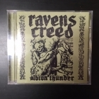 Ravens Creed - Albion Thunder CD (M-/VG+) -death metal-
