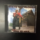 Stevie Ray Vaughan - Soul To Soul CD (VG+/M-) -blues rock-