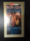 Bon Jovi - Slippery When Wet (The Videos) VHS (VG+/M-) -hard rock-