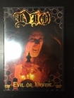 Dio - Evil Or Divine DVD (VG+/M-) -heavy metal-
