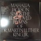 Mahalia Jackson - Sings The Best-Loved Hymns Of Martin Luther King, Jr. LP (VG+-M-/VG+) -jazz-/gospel-