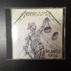 Metallica - ...And Justice For All CD (VG+/M-) -thrash metal-