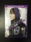 Justin Bieber - Never Say Never (director's fan cut) DVD (VG/M-) -dokumentti-