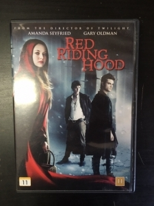 Red Riding Hood - Punahilkka DVD (M-/M-) -kauhu-