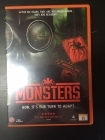 Monsters DVD (VG/M-) -draama/sci-fi-