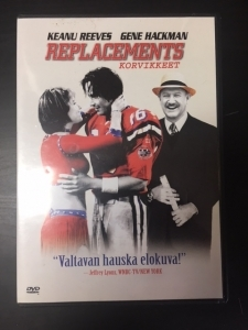 Replacements - Korvikkeet DVD (M-/M-) -komedia-