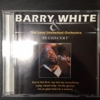 Barry White & The Love Unlimited Orchestra - In Concert CD (VG+/VG+) -soul-