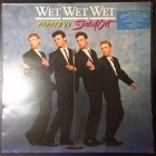 Wet Wet Wet - Popped In Souled Out LP (VG/VG+) -pop rock-