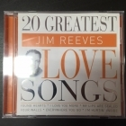 Jim Reeves - 20 Greatest Love Songs CD (VG+/VG+) -country-