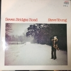 Steve Young - Seven Bridges Road LP (VG+-M-/VG+) -country rock-