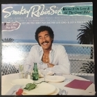 Smokey Robinson - Blame It On Love And All The Great Hits LP (VG+-M-/VG+) -r&b-
