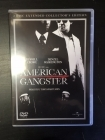 American Gangster (collector's edition) 2DVD (M-/M-) -draama-