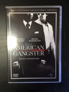 American Gangster (collectors edition) 2DVD (M-/M-) -draama-