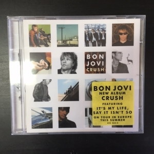 Bon Jovi - Crush CD (VG+/M-) -pop rock-