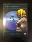 Luc Besson Collection (Le Dernier Combat / Subway / Suuri sininen / Tyttä nimeltä Nikita / Atlantis / Leon / The Fifth Element) 7DVD (VG+-M-/M-) -draama/toiminta-