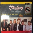 Huey Lewis And The News - The Power Of Love / Bad Is Bad 7'' (VG/VG) -pop rock-