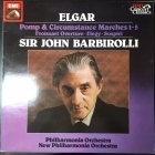 Elgar - Pomp And Circumstance Marches 1-5 LP (VG+/VG) -klassinen-