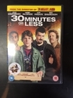 30 Minutes Or Less DVD (VG+/M-) -komedia-
