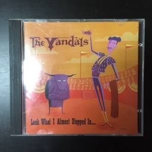 Vandals - Look What I Almost Stepped In... CD (M-/G) -punk rock-