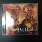 Scent Of Flesh - Become Malignity CDEP (VG+/M-) -death metal-
