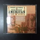 Woody Guthrie & Pete Seeger - American Folk Songs CD (M-/M-) -folk-