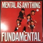Mental As Anything - Fundamental LP (VG+/VG+) -new wave-