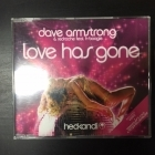 Dave Armstrong & RedRoche - Love Has Gone CDS (M-/M-) -house-