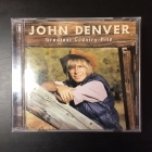 John Denver - Greatest Country Hits CD (VG+/M-) -country-