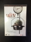 Saw IV (director's cut) DVD (VG+/M-) -kauhu-