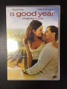 Good Year - Mainio vuosi DVD (VG/M-) -draama-