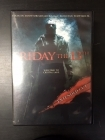 Friday The 13th (2009) (extended cut) DVD (VG+/M-) -kauhu-