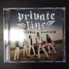 Private Line - Sound Advice CDS (M-/M-) -hard rock-