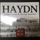 Haydn - Symphonies & String Quartet 4CD (M-/M-) -klassinen-