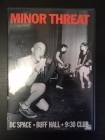 Minor Threat - DC Space / Buff Hall / 9:30 Club DVD (VG+/M-) -hardcore- (R0 NTSC)