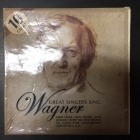 Wagner - Great Singers Sing Wagner 10CD (VG+-M-/VG+-M-) -klassinen-