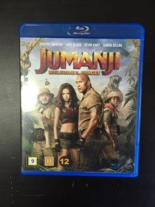 Jumanji - Welcome To The Jungle Blu-ray (M-/M-) -seikkailu/komedia-