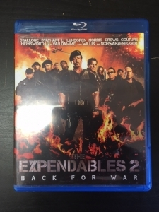 Expendables 2 - Back For War Blu-ray (M-/M-) -toiminta-