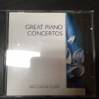 Great Piano Concertos CD (VG/M-) -klassinen-
