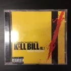 Kill Bill Vol 1 - Original Soundtrack CD (VG+/M-) -soundtrack-