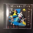 Manhattan Transfer - Live CD (M-/M-) -jazz fusion-