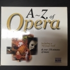 A-Z Of Opera 2CD + Kirja (VG/VG+) -klassinen-