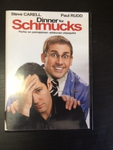 Dinner For Schmucks DVD (VG+/M-) -komedia-