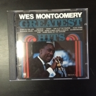 Wes Montgomery - Greatest Hits CD (VG+/VG+) -jazz-