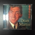 Dean Martin - I Wish You Love CD (M-/VG+) -jazz pop-